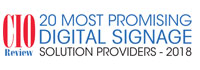 Top 20 Digital Signage Solution Providers - 2018